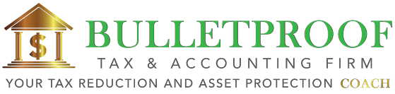 Bulletproof Tax & Accounting Firm Logo
